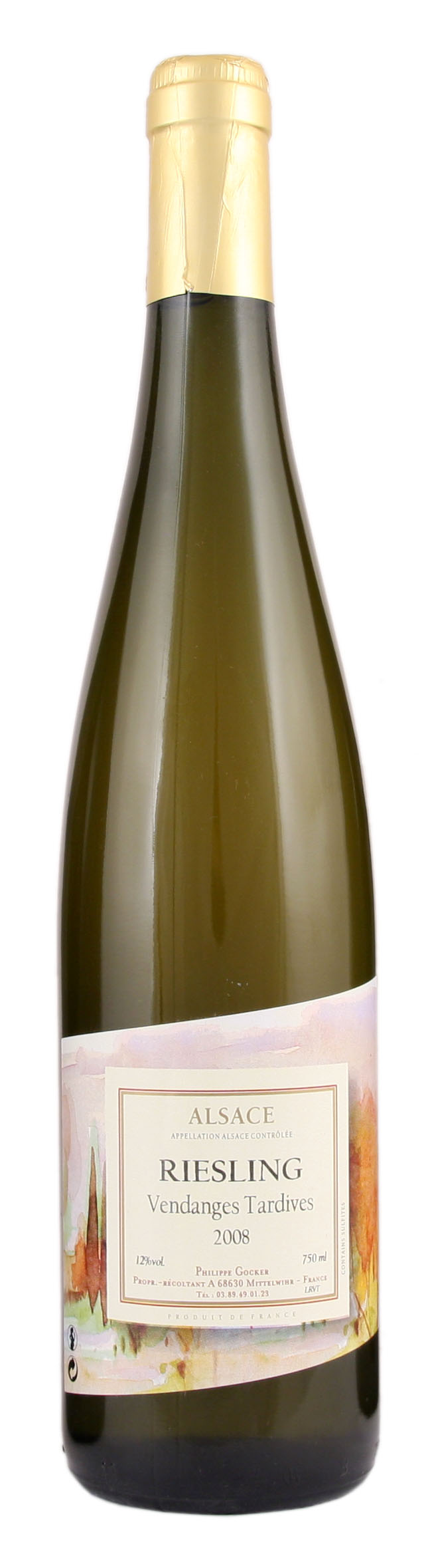 Gewurztraminer Vendages Tardives AOC