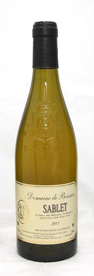Sablet blanc AOC